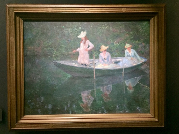 The Impressionism exhibit is my favorite.