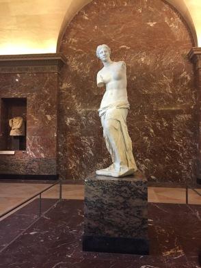 "Aphrodite, known as the ""Venus de Milo"""