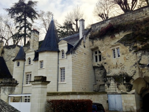 This troglodyte chateau was originally constructed for Queen Margret herself, and now serves as a private home.