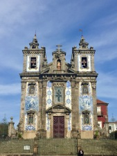 We couldn't go inside the Church of Saint Ildefonso, but loved the exterior.