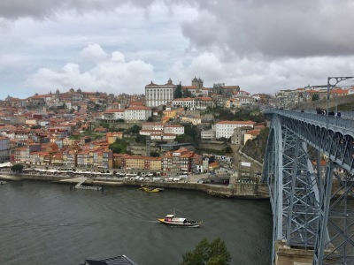 Porto from the other side of the river (also Porto).