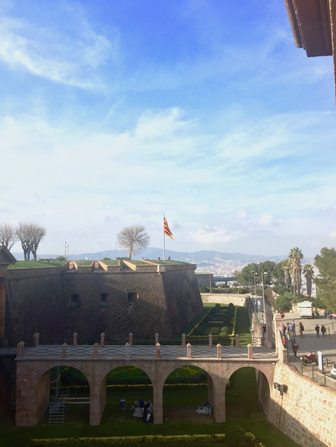 From the fortress wall, we got 360degree panoramas.