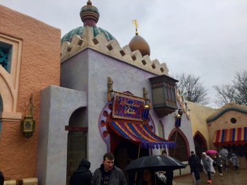 I loved the Aladdin corner.