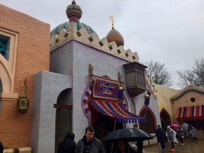 I loved the Aladdin corner.
