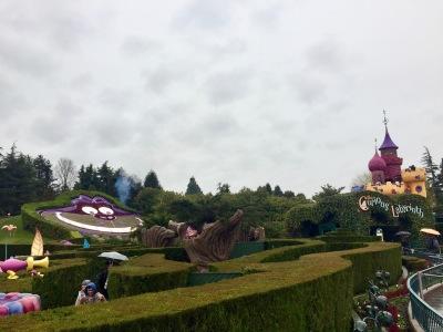 Love this idea: a true labyrinth in Wonderland